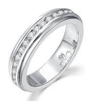 Energy Stone 925 Sterling Silver Super NOVA Meditation Spinner Ring (Style US55)