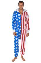 Tipsy Elves American Flag Jumpsuit - Comfy USA Clothing Item