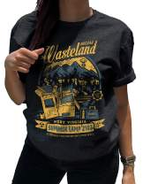 LeRage Nuclear Wasteland Shirt Post Apocalyptic Videogame Tee Women's