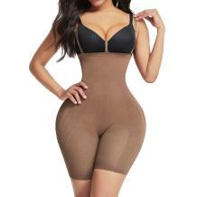 Lover-Beauty Shapewear for Women Tummy control Seamless Body Shaper Mesh Butt Lifer Thigh Slimmer Bodysuit