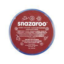 Snazaroo Classic Face and Body Paint, 18ml, Burgundy, 6 Fl Oz