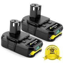 2Pack 2.5Ah Ryobi 18V Lithium Battery Pack Replacement for Ryobi 18-Volt ONE+ P104 P105 P102 P103 P107