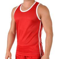 Gary Majdell Sport Mens Shiny Mesh Performance Athletic Workout Tank Top