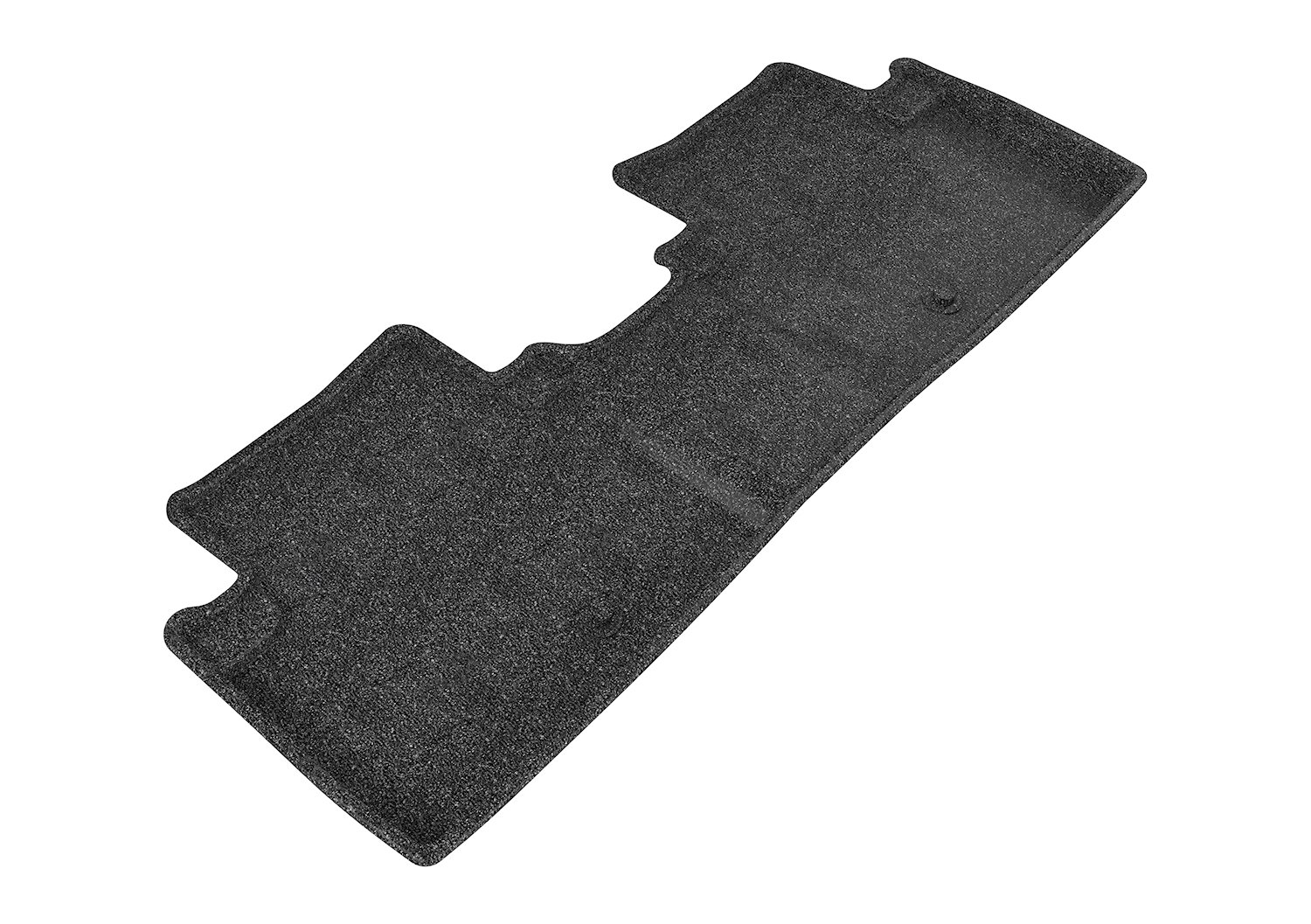 3D MAXpider Second Row Custom Fit All-Weather Floor Mat for Select Acura ILX Models - Classic Carpet (Black)