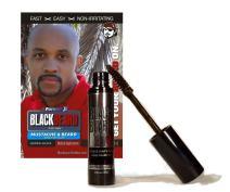Blackbeard for Men Formula X - Instant Brush-on Beard & Mustache Color - 1-pack (Brown/Black)