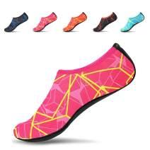JACKSHIBO Men Women Quick-Dry Water Skin Shoes Aqua Socks Barefoot for Outdoor Beach Sports Swim Surf Yoga Exercice