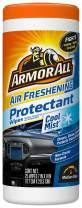 Armor All Car Interior Cleaner Protectant Wipes - Cleaning for Cars & Truck & Motorcycle, Cool Mist, 25 Count, 78509