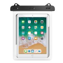MoKo Waterproof Tablet Case, Tablet Pouch Dry Bag for New iPad 9.7 2018/2017, iPad Pro 9.7, iPad Air 2, iPad 4/3/2, Samasung Tab S4/ S3/ S2/Tab A 9.7, Galaxy Note 8, Tab E 9.6 Up to 10 Inch, White