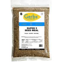 Gerbs Ground Pumpkin, Sunflower, Chia, Flax, Hemp Seed Meal, 2 LBS, Top 14 Food Allergy Free & NON GMO