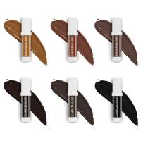 Best Microblading Pigment, Brow Ink Color Set of 6 for Perfect Eyebrows, Microblading Pen Supplies, Professional Medical-Grade Black Tattoo Ink, Works with Permanent Machine, 10 ml (Set Of 6)