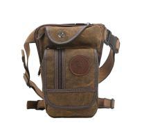 Genda 2Archer Canvas Tactical Waist Pack Travel Cycling Leg Bag