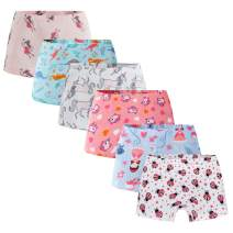 Boboking Soft 100% Cotton Girls' Panties Girlshort Little Girls' Underwear Toddler Undies