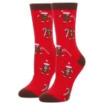 Novelt Funny Gingerbread Biscuits Cookies Socks, Crazy Food Socks for Women