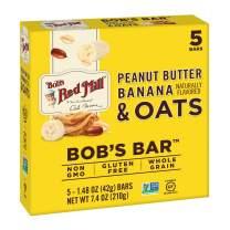 Bob's Red Mill Peanut Butter Banana & Oats Bob's Bar, (Pack Of 5)