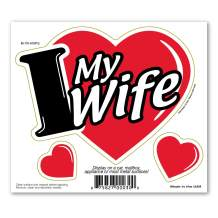 I Love My Wife 3 in 1 Magnet