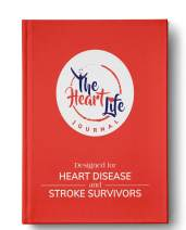 Heart Disease and Stroke Survivor Journal- (Monitor Blood Pressure, Symptom and Medication Tracker),Hardcover Gratitude Diary + Daily Planner. Achieve Goals, Productivity & Happiness, Focus on Health