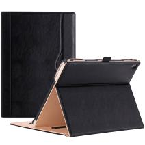 """ProCase Lenovo Tab 4 10 Plus Case - Stand Folio Case Protective Cover for Lenovo Tab 4 10.1"""" Plus Android Tablet 2017 Release ZA2T0000US -Black"""