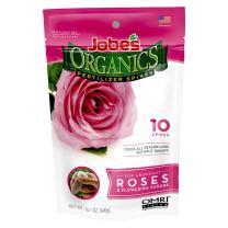 Jobe's Organics Rose & Flower Fertilizer Spikes, 10 Spikes