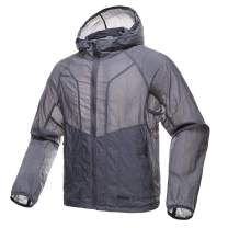 FREE SOLDIER Men's Tactical Jacket Lightweight Wind Breaker Jacket Water-Resistant Breathable Hiking Cycling Jacket