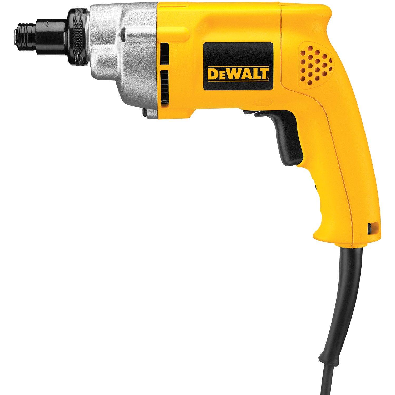 DEWALT Screw Gun, Variable-Speed Reversible, Positive Clutch, 6.5-Amp (DW281)