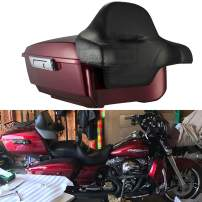 Moto Onfire Velocity Red Sunglo King Tour Pack 2016 Backrest Pad Fit for Harley Touring Street Glide Road King Road Glided Electra Glide Ultra Classic 2014-2020