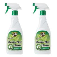 Howard Products Natural Stainless Steel Cleaner Trigger Spray, Fragrance-Free