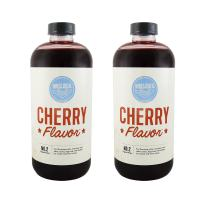 Hires Big H Cherry Syrup, Rich Cherry Flavor Great for Soda Flavoring and so much more! 18 oz - 2 Pack