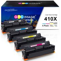 GPC Image Compatible Toner Cartridge Replacement for HP 410X CF410X CF411X CF412X CF413X 410A to use with Color Laserjet Pro MFP M477fdw M477fdn M477fnw Pro M452dn M452nw M452dw Printer Toner