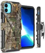 CoverON Heavy Duty Belt Clip Explorer Series for iPhone 11 Holster Case, Camo