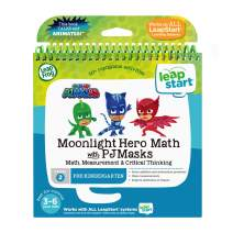 LeapFrog LeapStart 3D Moonlight Hero Math with PJ Masks Book, Great Gift For Kids, Toddlers, Toy for Boys and Girls, Ages 3, 4, 5, 6