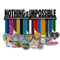 Believe&Train Nothing is Impossible - Motivational Medal Hanger