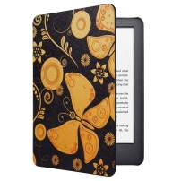 CoBak Case for All New Kindle 10th Generation 2019 Released - Will Not Fit Kindle Paperwhite or Kindle Oasis, Premium PU Leather Smart Cover with Auto Sleep and Wake,Butterfly