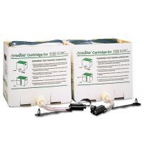 Honeywell 2-Piece Saline Cartridge Set for Fendall Pure Flow 1000 Emergency Eyewash Station