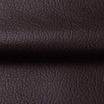 ANMINY Vinyl Faux Leather Fabric Cotton Back for Hand Crafts DIY Tooling Sewing Hobby Workshop Crafting Wallet Making Square 1.5 Yards Long 54 Inches Wide 0.03 Inches Thick (Dark Coffee, 1.5 Yards)
