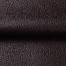 ANMINY Vinyl Faux Leather Fabric Cotton Back for Hand Crafts DIY Tooling Sewing Hobby Workshop Crafting Wallet Making Square 1 Yard Long 54 Inches Wide 0.03 Inches Thick (Dark Coffee, 1 Yard)