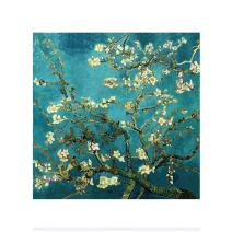 Mobicus 5D DIY Diamond Painting,by Number Kits Crafts & Sewing Cross Stitch,Wall Stickers for Living Room Decoration,Apricot Flowers(16X16inch/40X40CM)