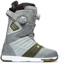 DC Judge BOA Snowboard Boots Mens Sz 11 Grey
