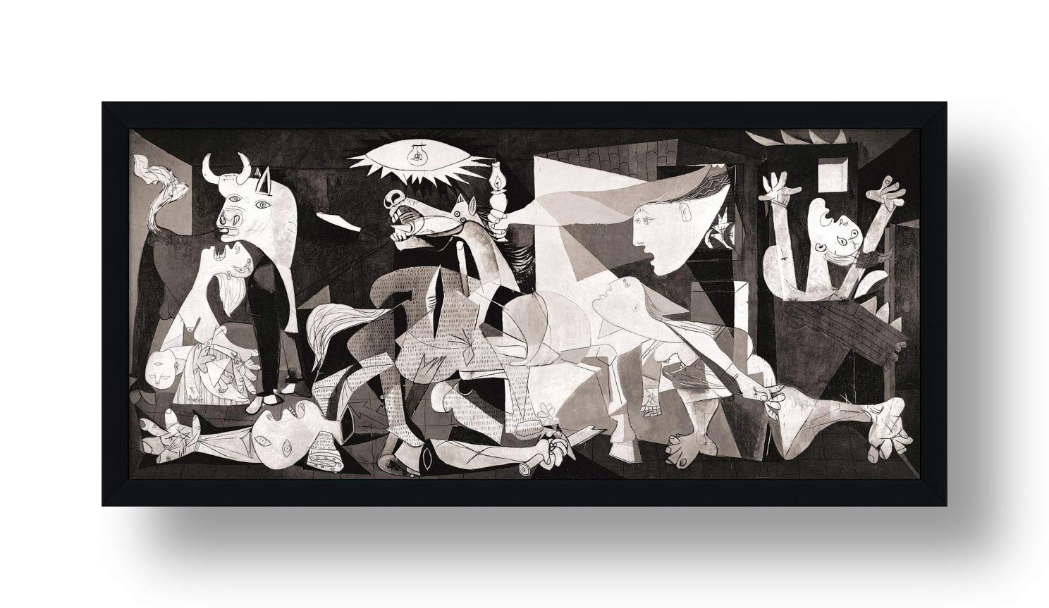 """Alonline Art - Guernica by Pablo Picasso 