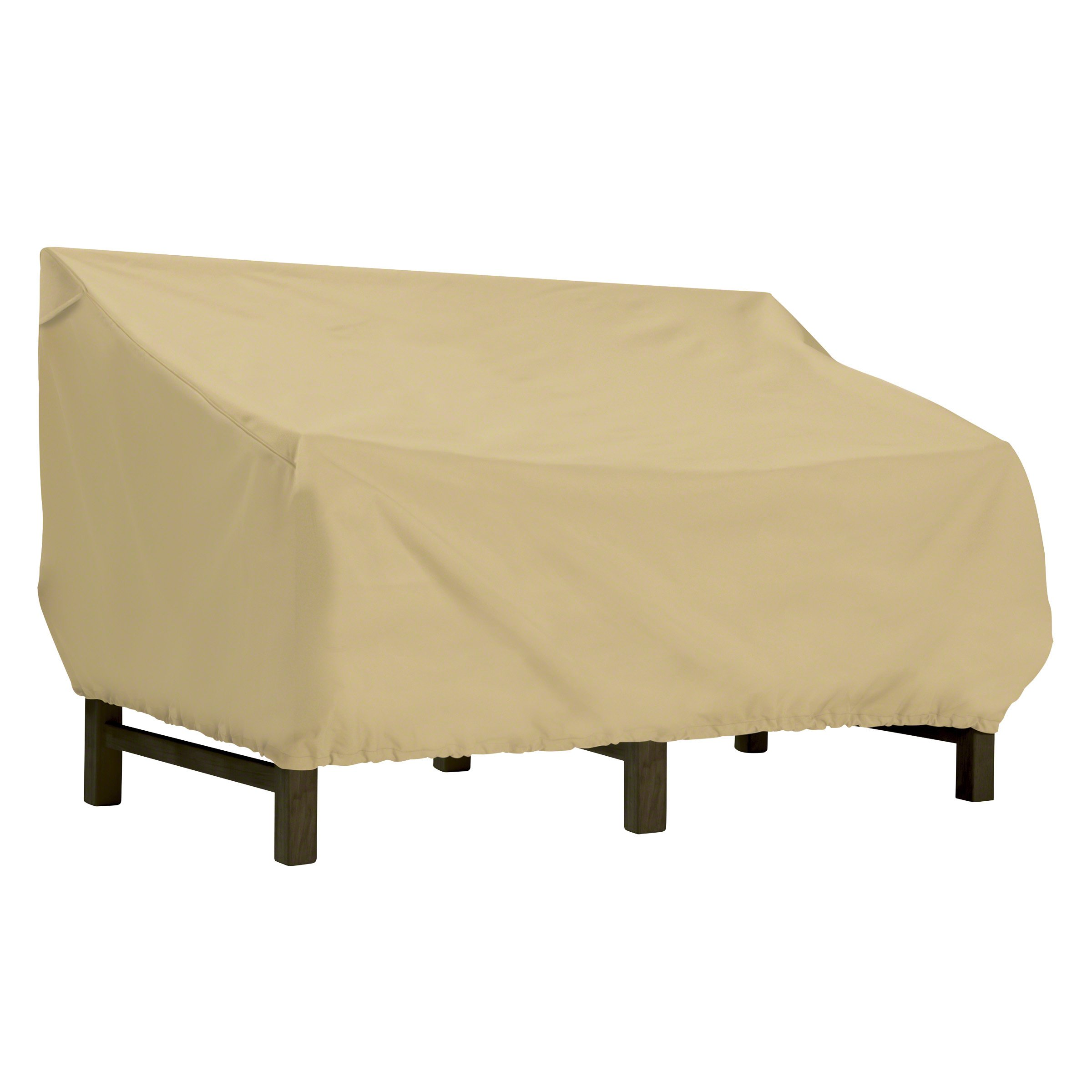 Classic Accessories Terrazzo Water-Resistant 104 Inch Deep Seated Patio Loveseat Cover