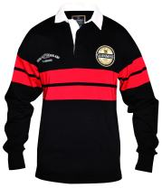 Guinness Black and Red Label Rugby Jersey