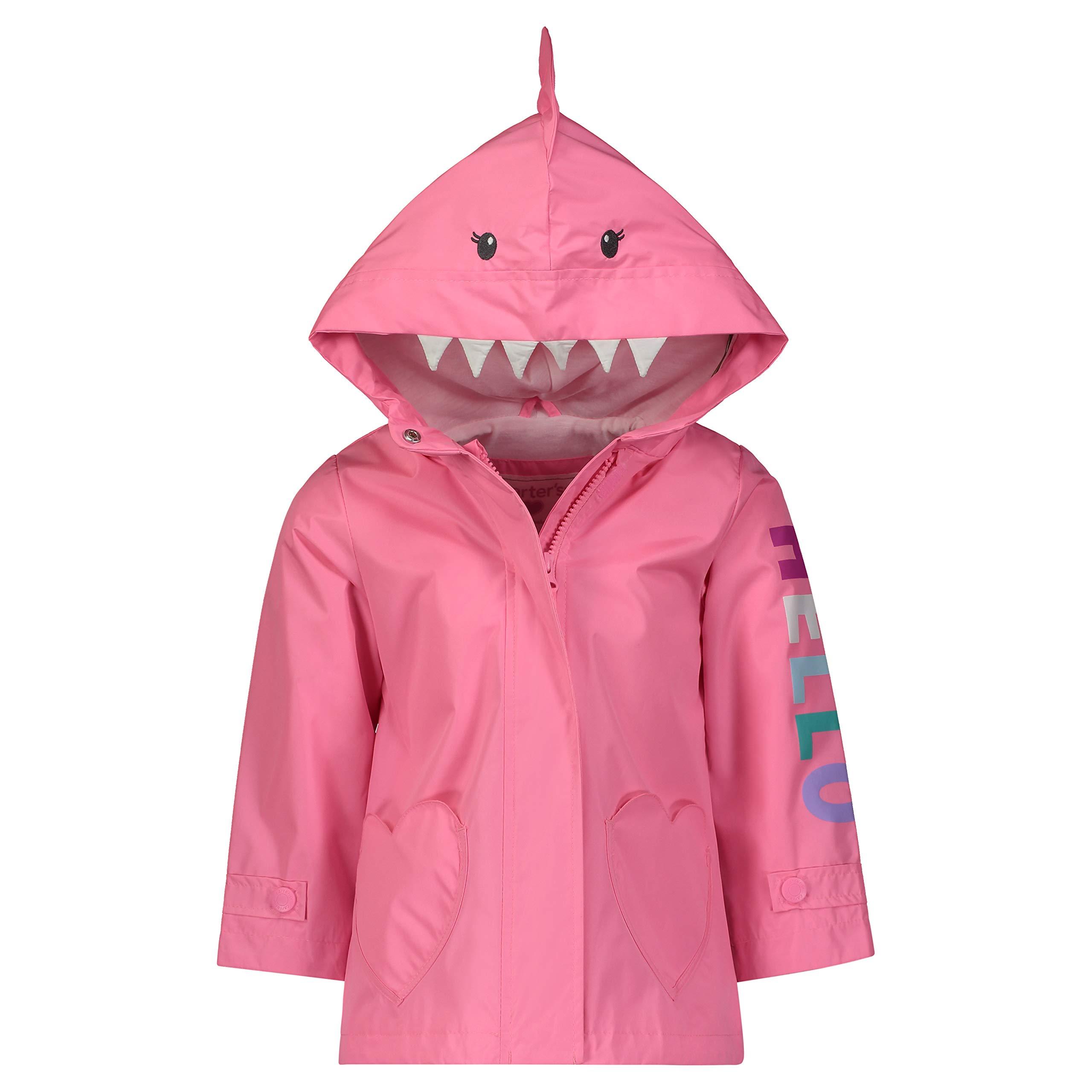 Carter's Little Girls Perfect Rainslicker Rain Jacket