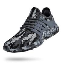 Biacolum Mens Running Shoes Non Slip Gym Tennis Shoes Slip Resistant Air Knitted Sneakers Walking Workout Sport Shoes