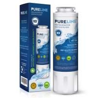 PURELINE UKF8001 Water Filter. Compatible with Models: UKF8001, EDR4RXD1, UKF8001,UKF8001AXX-750, UKF8001AXX-200, HDX FMM-2, 4396395, Filter 4, and WRX735SDHZ.
