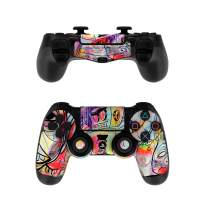 Battery Acid Meltdown - PS4 Controller Skin Sticker Decal Wrap (Controller NOT Included)