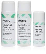 Amazon Brand - Solimo Acne Treatment System, 60 Day Kit