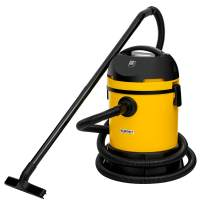 KUPPET Wet/Dry Vacuum Cleaner, Vac Pond/Home Dual Use, Portable Shop Vacuum with Attachments, Powerful 16Kpa Suction, Strong Big Tank in 30L, 1400W(Yellow)…