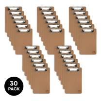 """Mini Clipboard 6"""" x 9"""" (Set of 30) Small Clipboard 