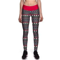 Fanii Quare Women's High Waist Ankle Leggings Digital Print Skinny Active Yoga Pants