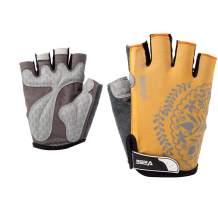 VEBE Women's Biking Cycling Gloves Non-Slip Shockproof Short Finger Gloves Outdoor Riding Mountain Bike Gloves