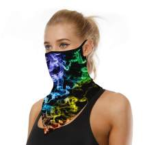 TALONITE Scarf Face Mask - Bandana Face Mask with Ear Loops, Rave Face Mask,Skull Mask, Neck Gaiter for Festivals, Fishing, Hunting, Cycling, Motorcycling